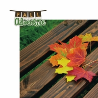 Fall Adventure 2 Piece Laser Die Cut Kit