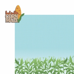 Fall Bucket List: Corn Maze 2 Piece Laser Die Cut Kit