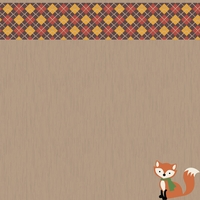 Fall Critters: Sweater Weather 12 x 12 Paper