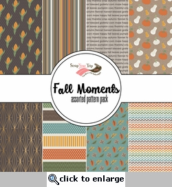 Fall Moments Assorted 12 x 12 Paper Pack