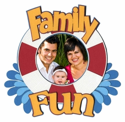 2SYT Family Fun Photo Frame Laser Die Cut