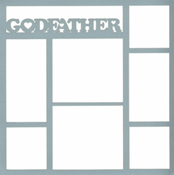 2SYT Family: Godfather 12x12 Overlay Laser Die Cut
