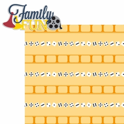 2SYT Family Night: Family Fun 2 Piece Laser Die Cut Kit