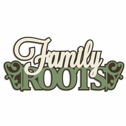 Family Tree: Family Roots Laser Die Cut