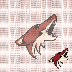Fanatic: Arizona Coyotes 12 x 12 Paper