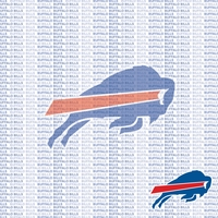 Fanatic: Buffalo Bills 12 x 12 Paper