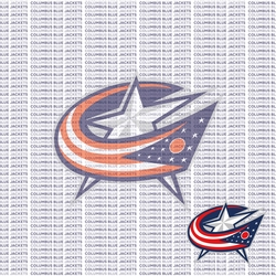 Fanatic: Columbus Blue Jackets 12 x 12 Paper