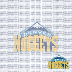 Fanatic: Denver Nuggets 12 x 12 Paper
