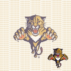 Fanatic: Florida Panthers 12 x 12 Paper