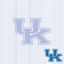Fanatic: Kentucky 12 x 12 Paper