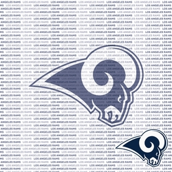 Fanatic: Los Angeles Rams 12 x 12 Paper