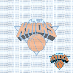 Fanatic: New York Knicks 12 x 12 Paper