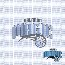 Fanatic: Orlando Magic 12 x 12 Paper