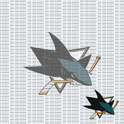 Fanatic: San Jose Sharks 12 x 12 Paper