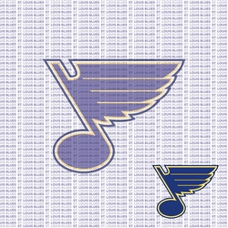 Fanatic: St. Louis Blues 12 x 12 Paper
