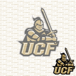 Fanatic: UCF Knights 12 x 12 Paper