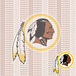 Fanatic: Washington Redskins 12 x 12 Paper