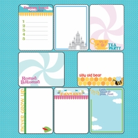 Fantasy Land: Journaling Cards 12 x 12 Paper