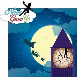 Fantasy Land: Peter Pan 2 Piece Laser Die Cut Kit