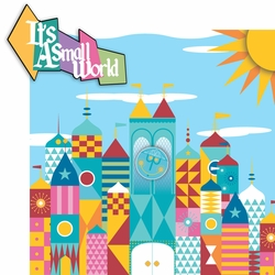 Fantasy Land: Small World 2 Piece Laser Die Cut Kit