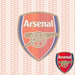 FC Fanatic: Arsenal 12 x 12 Paper