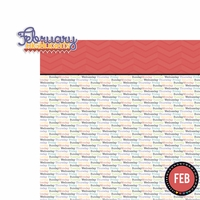 February: Highlights 2 Piece Laser Die Cut Kit