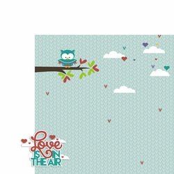 February: Love in the air 2 Piece Laser Die Cut Kit