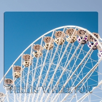 Ferris Wheel Fun 3D 2 Piece Laser Die Cut Kit