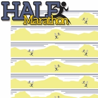 Finish Line: Half Marathon 2 Piece Laser Die Cut Kit