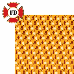 Firefighter: Fire Department 2 Piece Laser Die Cut Kit