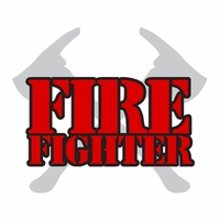 Firefighter Laser Die Cut