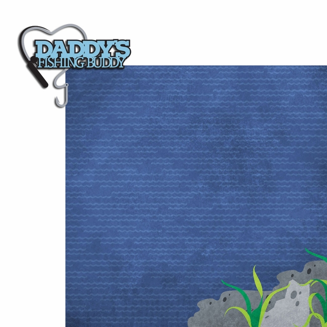 Fish daddy 39 s buddy 2 piece laser die cut kit for Fish daddy s