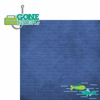 Fish: Gone Fishing 2 Piece Laser Die Cut Kit
