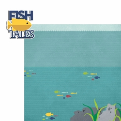 Fishing: Fish Tales 2 Piece Laser Die Cut Kit