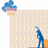 Fitness Time 2 Piece Laser Die Cut Kit