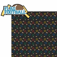 Flag Football: Flag Football 2 Piece Laser Die Cut Kit