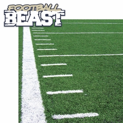 Flag Football: Football Beast 2 Piece Laser Die Cut Kit