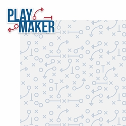 Flag Football: Play Maker 2 Piece Laser Die Cut Kit