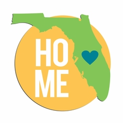 Florida Travels: Fl Home Laser Die Cut