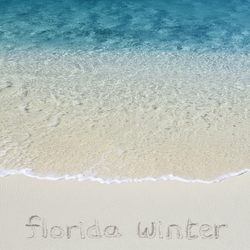 Florida Winter Beach 12 x 12 Paper
