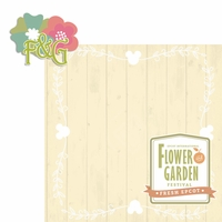 Flower and Garden: Flower and Garden 2 Piece Laser Die Cut Kit