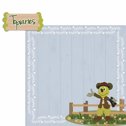 Flower and Garden: Topiaries 2 Piece Laser Die Cut Kit