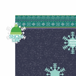 Flurries: Snow day 2 Piece Laser Die Cut Kit