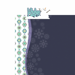 Flurries: Winter Days 2 Piece Laser Die Cut Kit