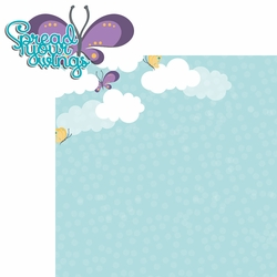 2SYT Flutter: Spread Wings 2 Piece Laser Die Cut Kit
