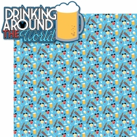 Food and Wine: Drinking Around The World 2 Piece Laser Die Cut Kit
