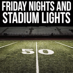 Football: Friday Night and Stadium Lights 12 x 12 Paper