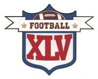 Football XLV Laser Die Cut