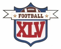 2SYT Football XLV Laser Die Cut
