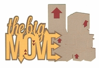 For Sale: The Big Move Laser Die Cut